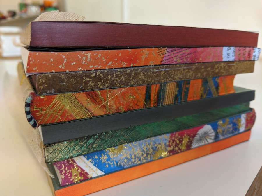 Bookbinding - 'Creative Edge Decoration' Image #2