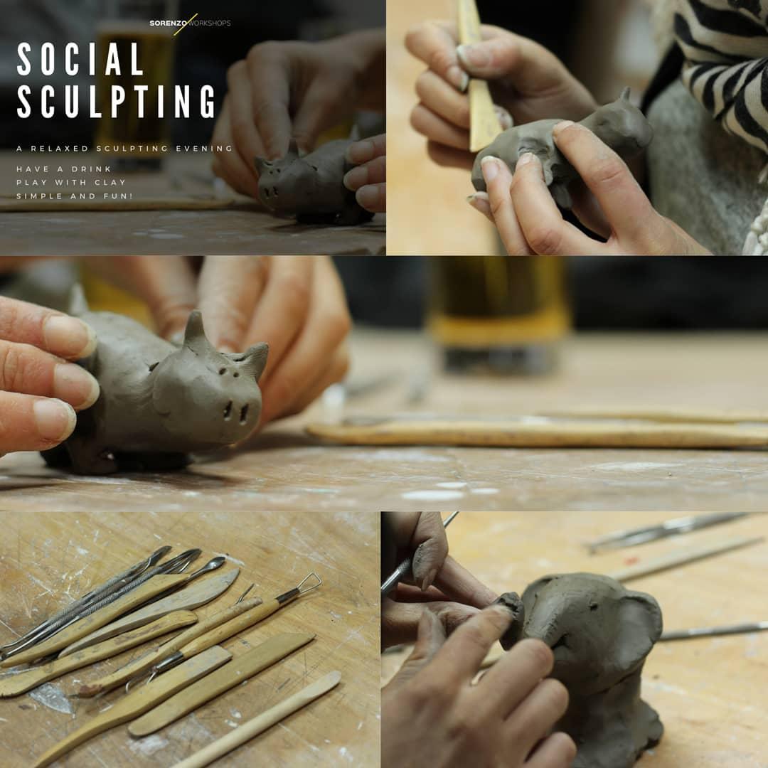 Social Sculpting Tuesday