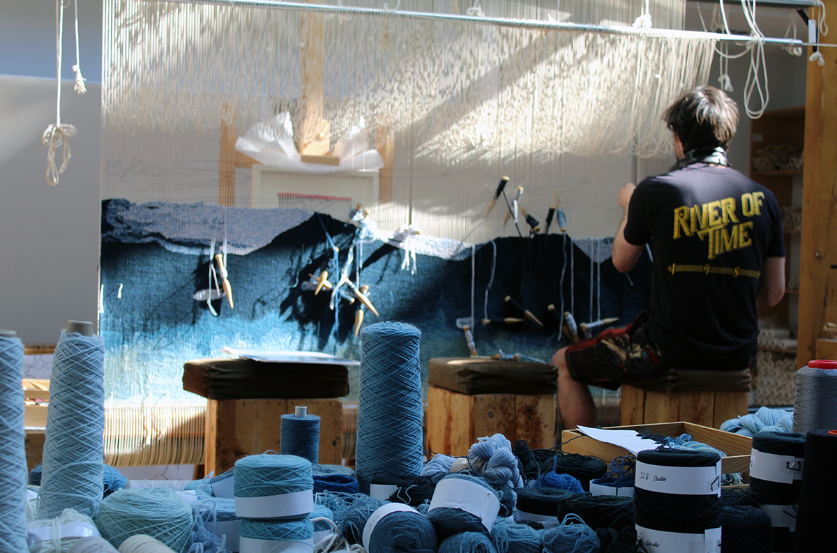 Barbara Rae - Dovecot Weavers Tapestry Talk