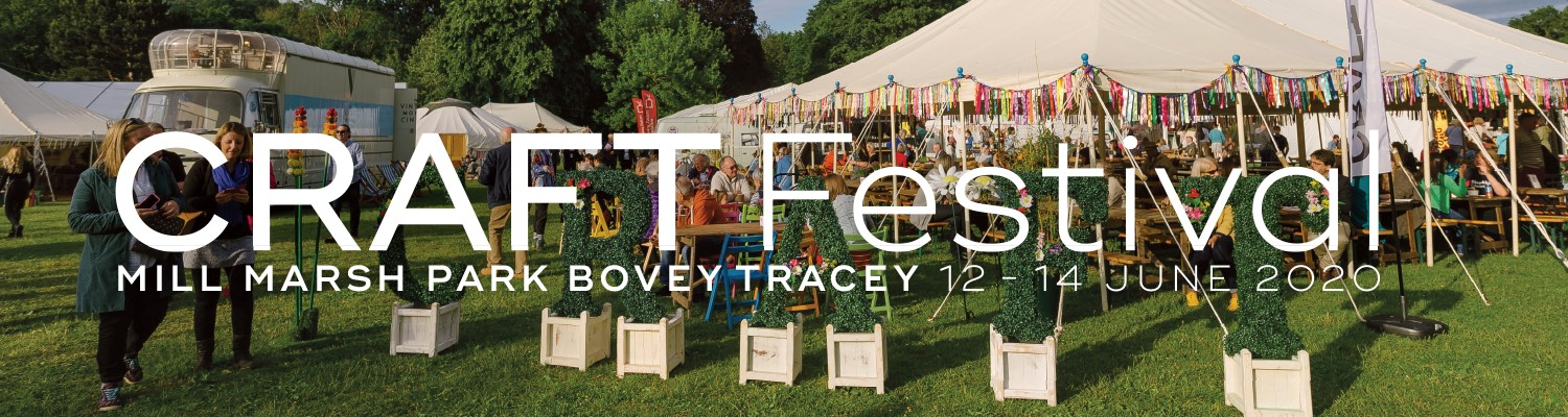 Call For Entries: Craft Festival, Bovey,  June 2020 Image #1