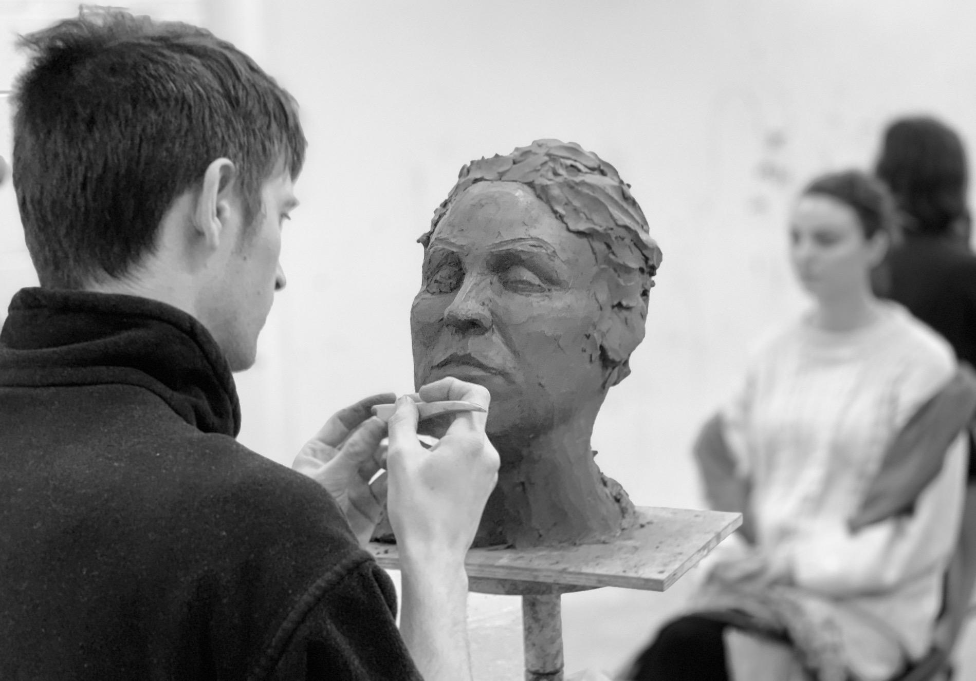 Clay Portraiture with Duncan Robertson