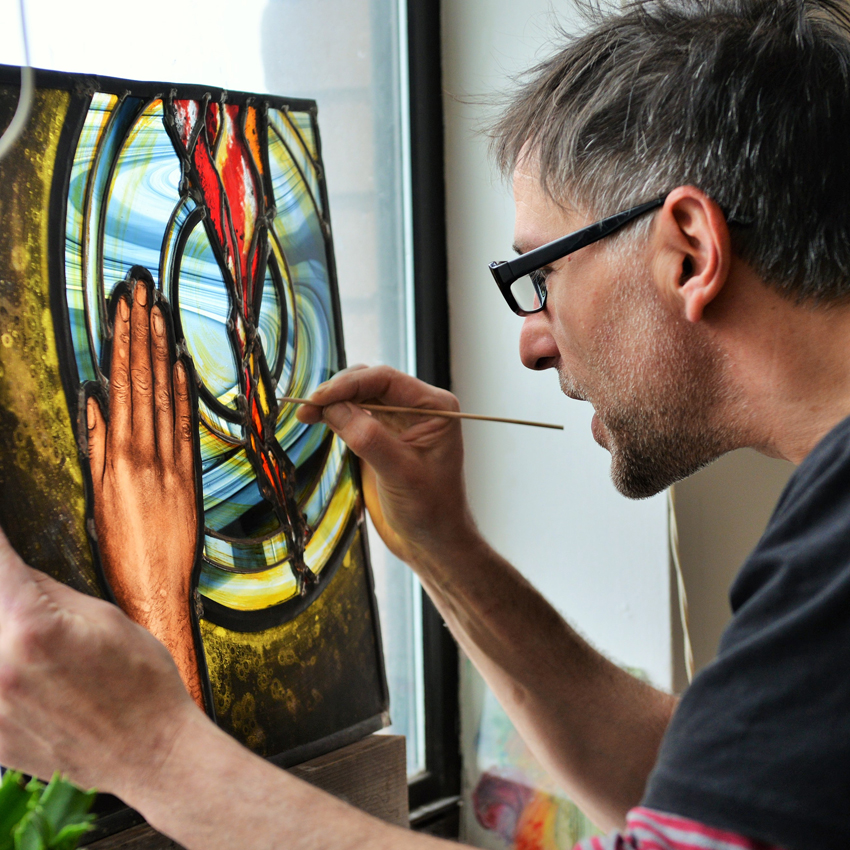 When stained glass becomes sustainable with David Mola