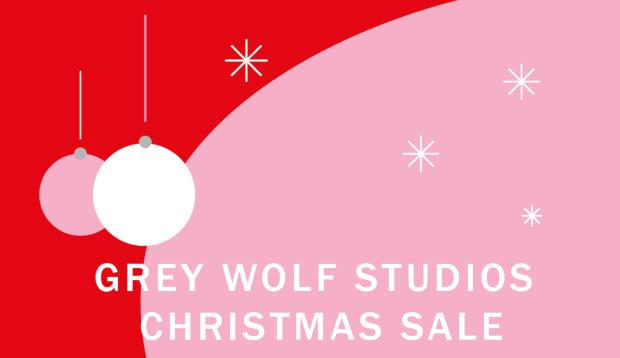 Grey Wolf Christmas Sale