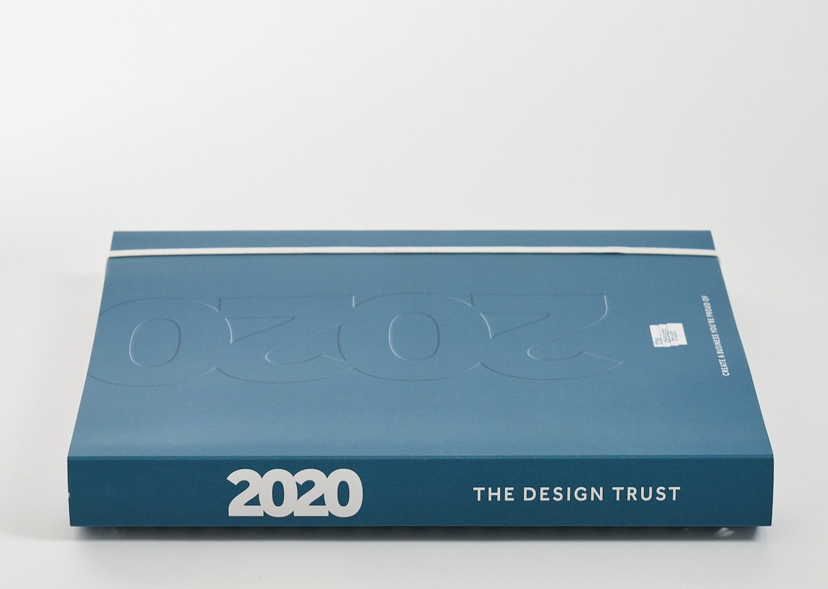 The Design Trust Diary Planner 2020 - the productivity tool for creative professionals