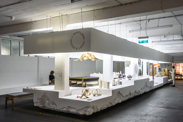 Scotland Craft Design Pavilion Stand Design