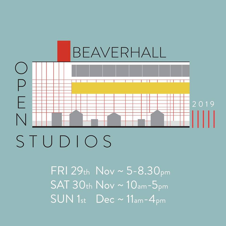 Beaverhall Open Studio weekend 2019