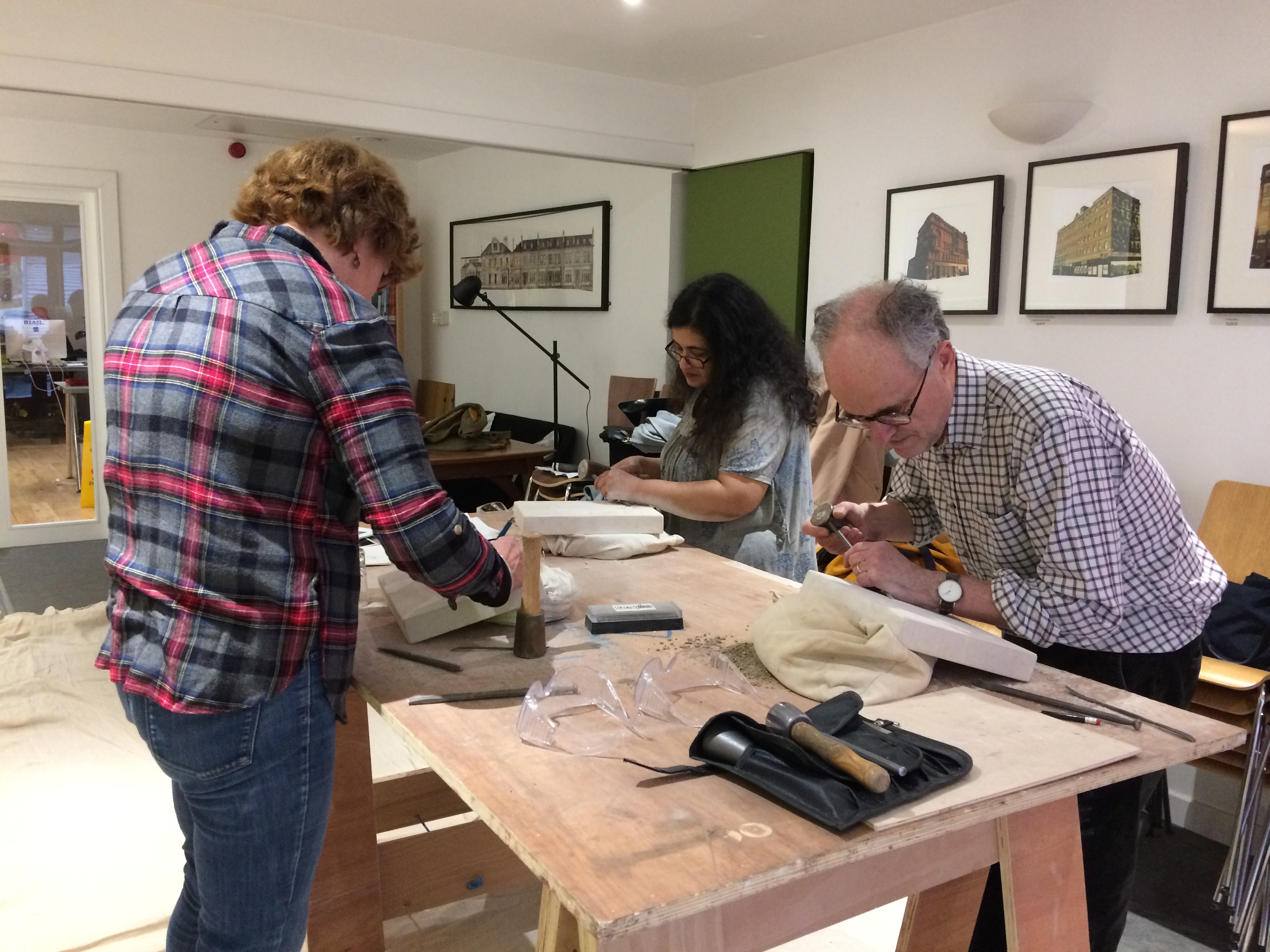 Two Day Stone Letter Carving and Relief Course