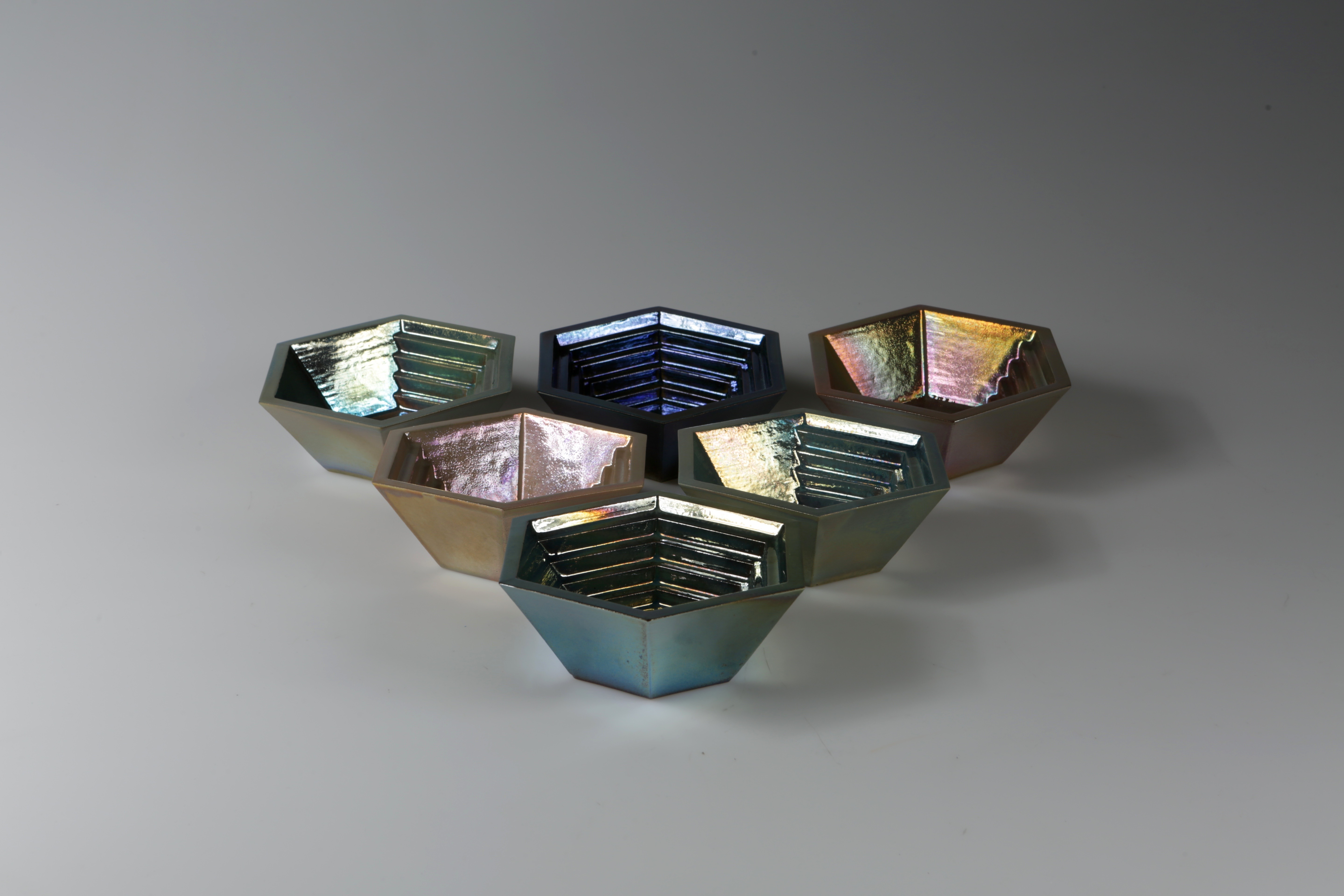 The Bismuth Collection, Double walled vessels