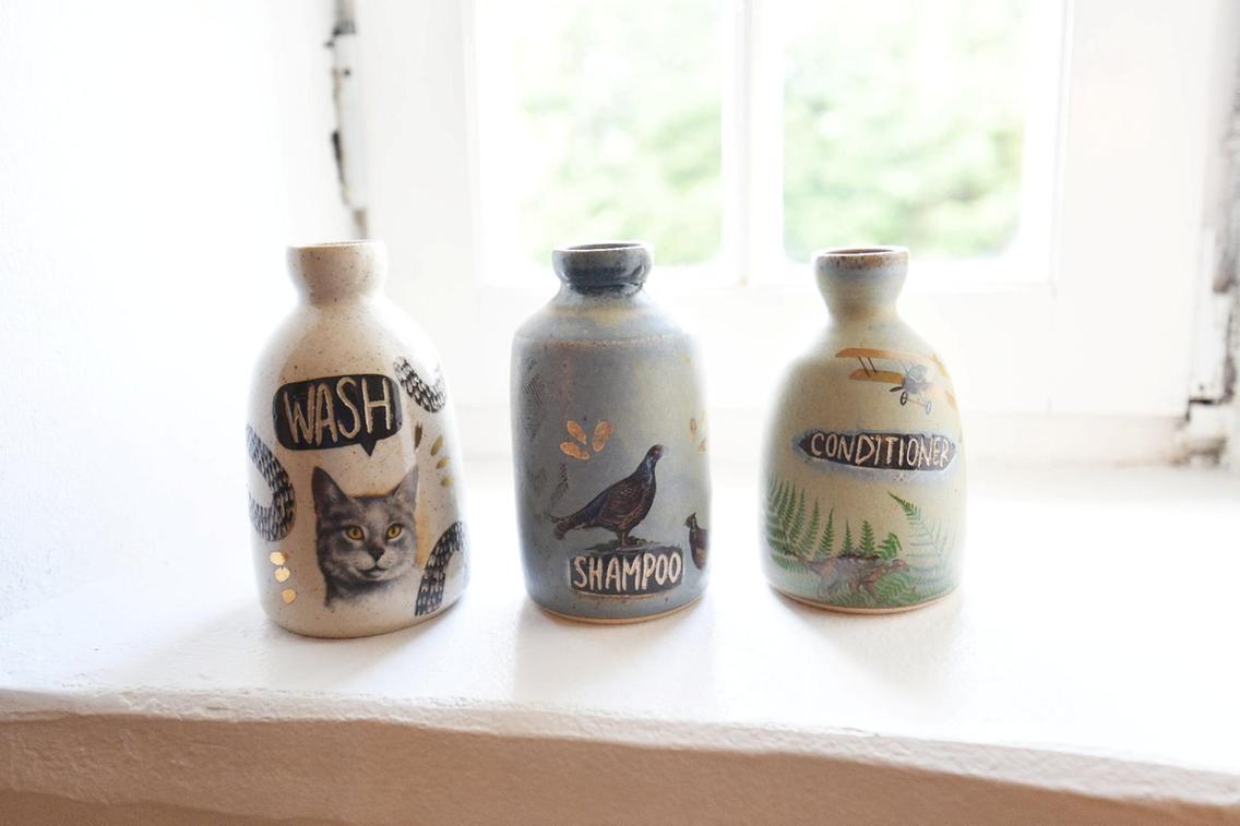 Claire Henry ceramics, Kilmartin Castle