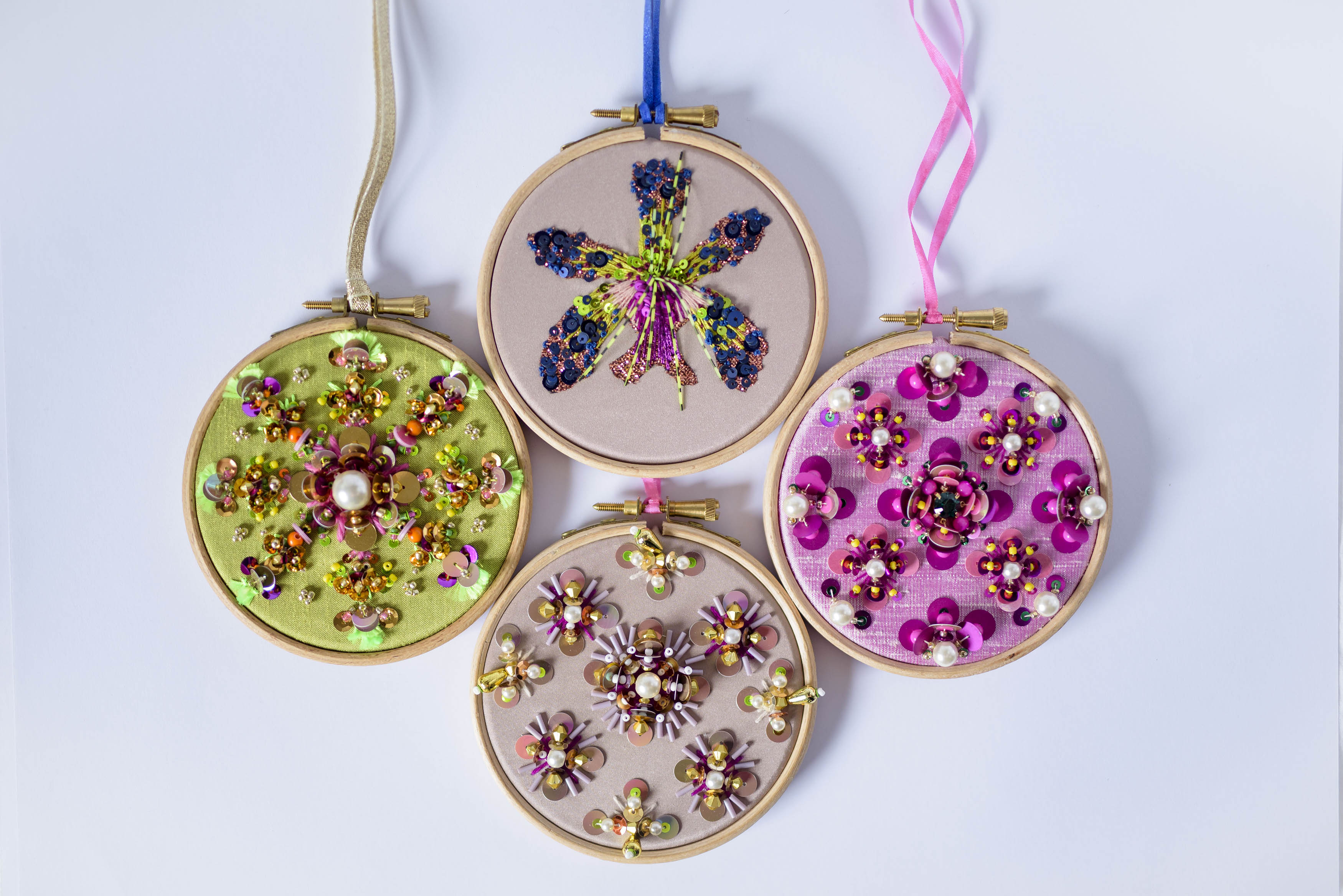 Festive Embroidery with Chloe Patience
