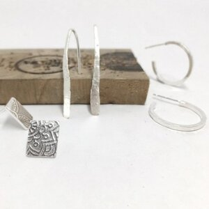 Make A Trio of Silver Earrings at The Smiddy, Banff
