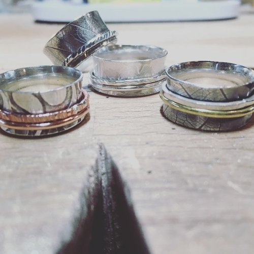 Make A Silver Spinner Ring at The Smiddy, Banff