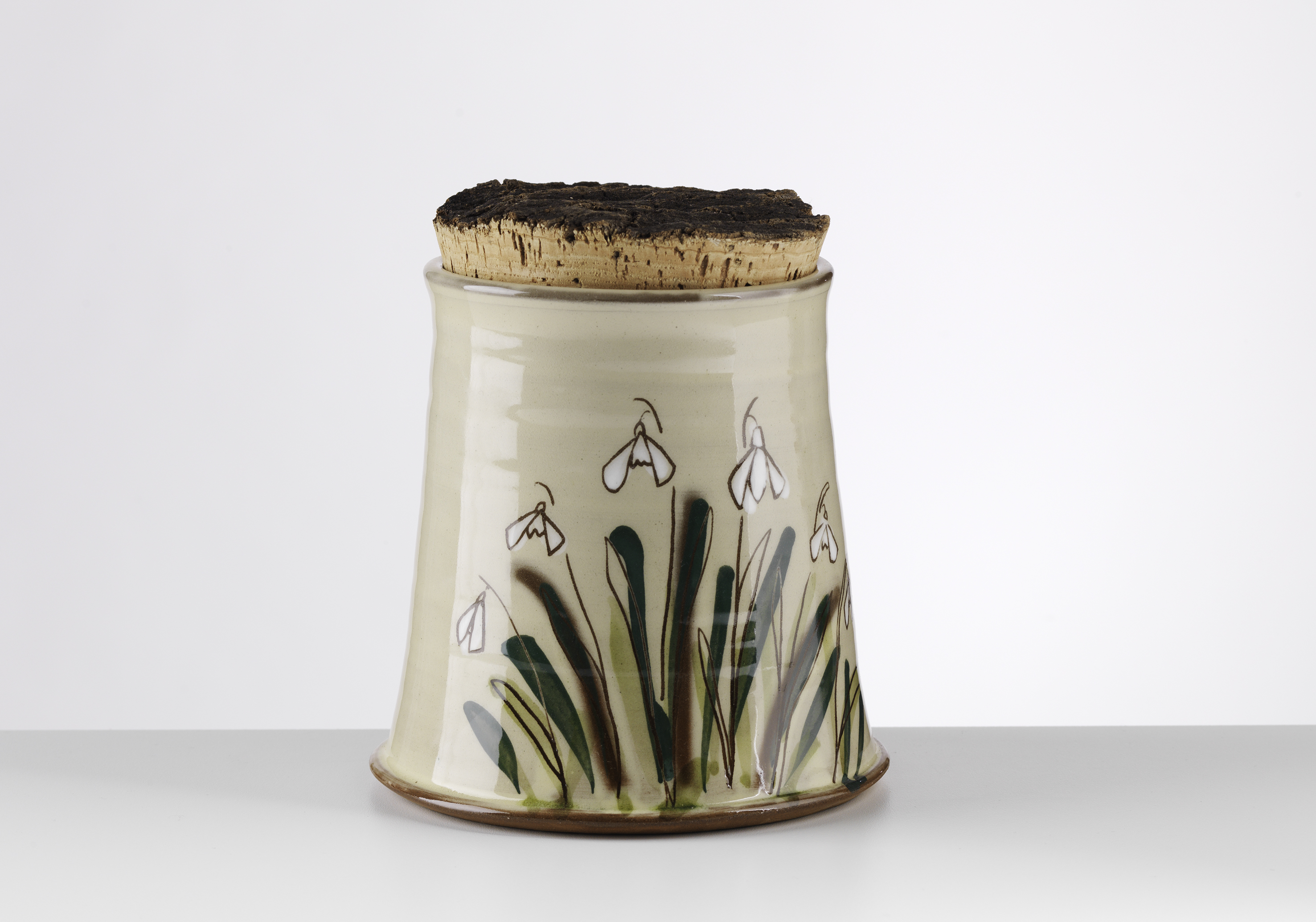 Snowdrop jar, large