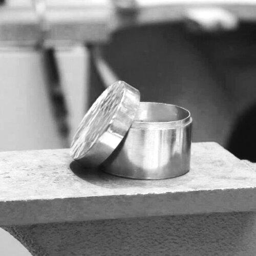 Make a Silver Trinket Box (3-week block)