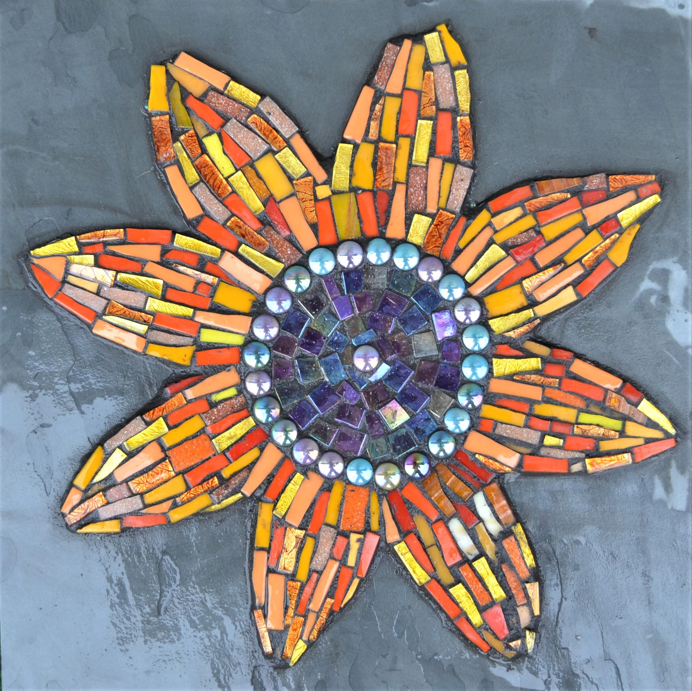 Sunflower Mosaic Workshop