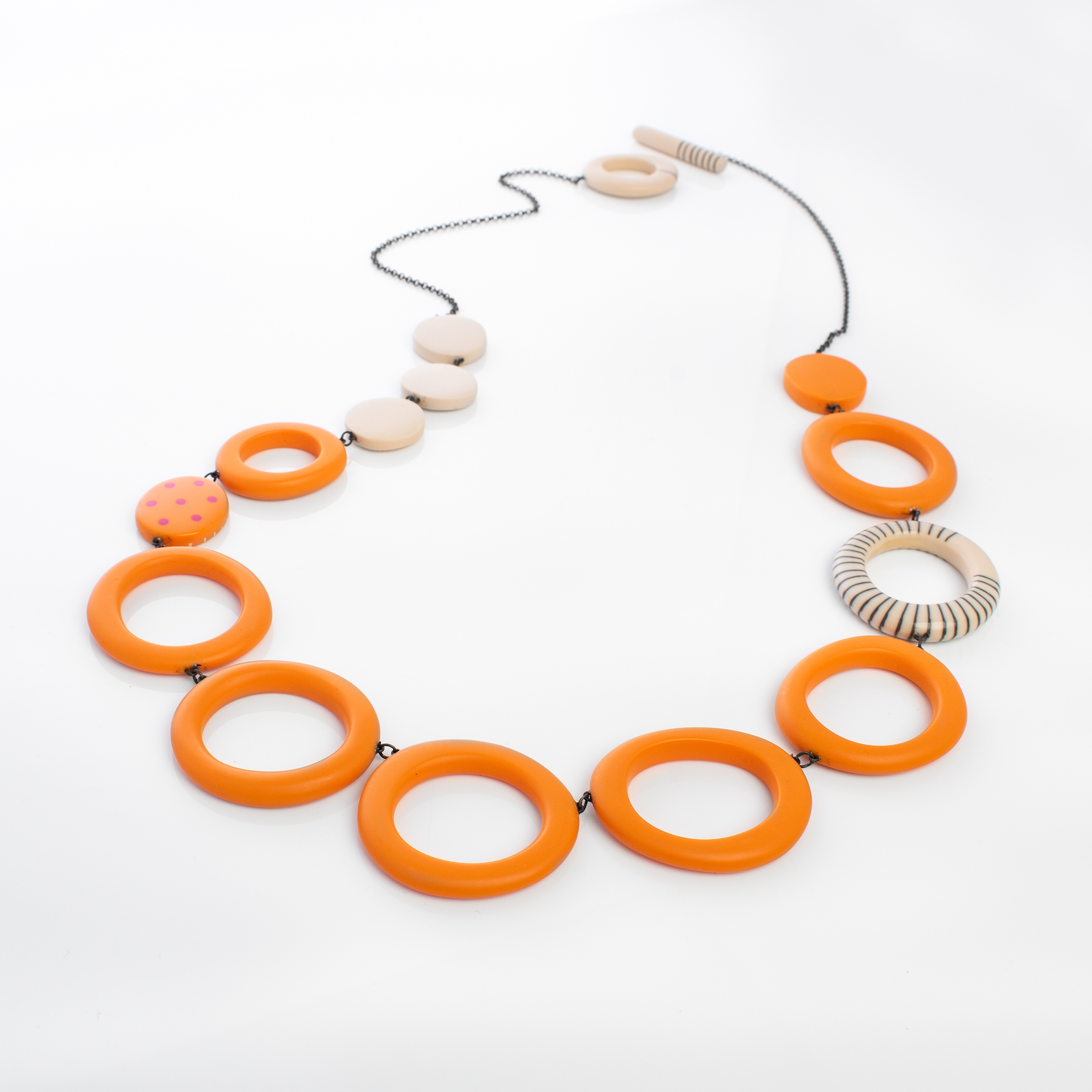 Reversible Hoops Necklace