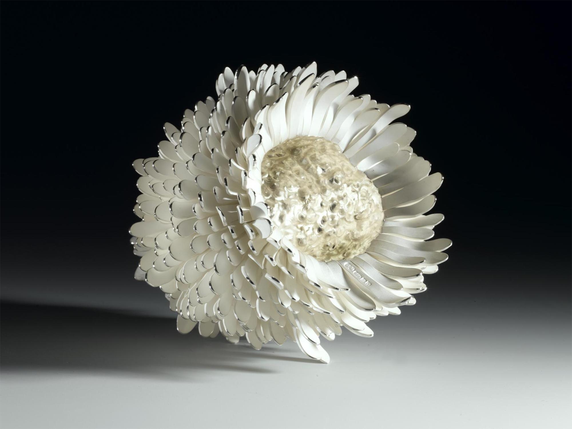 New Pinecone Silver Organism, by Junko Mori, 2007