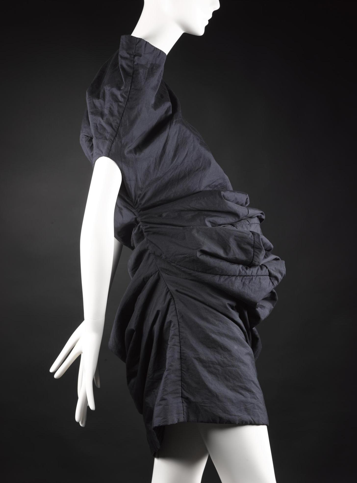 Dress from 'Body Meets Dress' or 'Bump' collection, Rei Kawakubo for Comme des Garçons, Spring/Summer 1997. ©  Rei Kawakubo / Comme des Garcons
