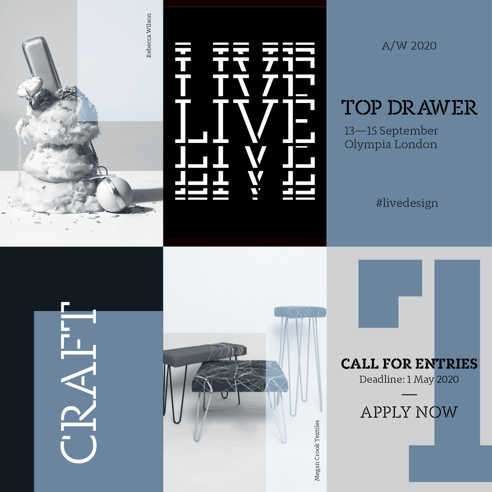 CRAFT | Top Drawer A/W20 Edition: Call for entries