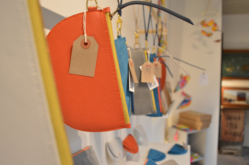 Jude Gove's Colourful Leather Pouches