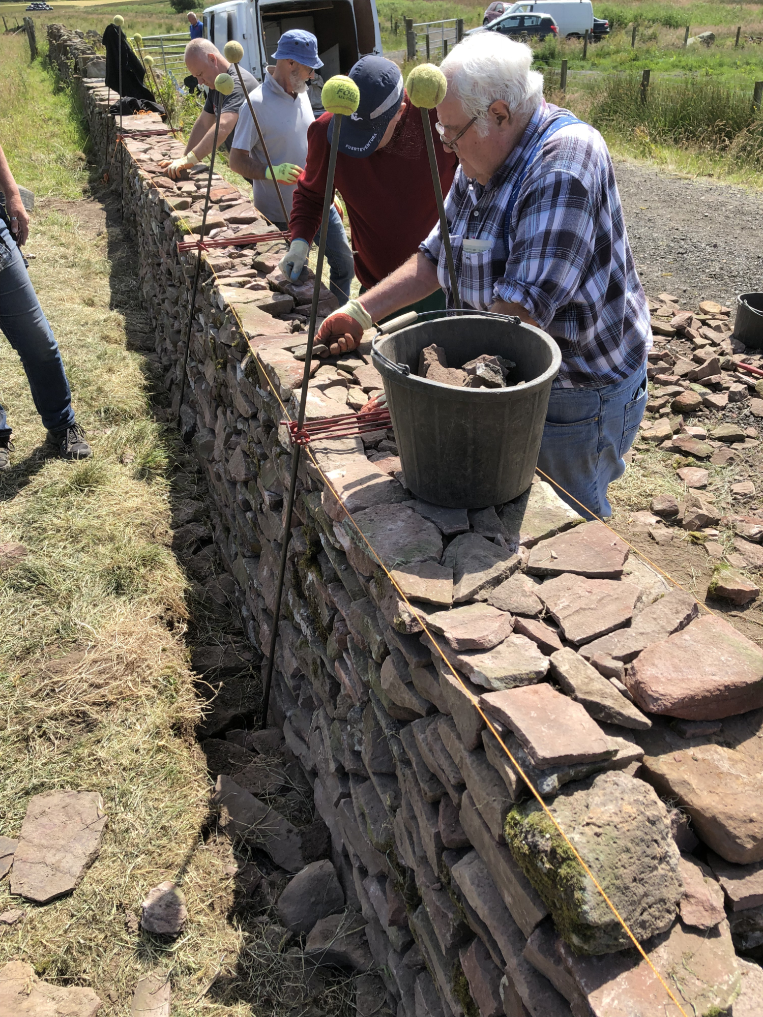 Course Learn To Build Repair A Traditional Dry Stone Wall At