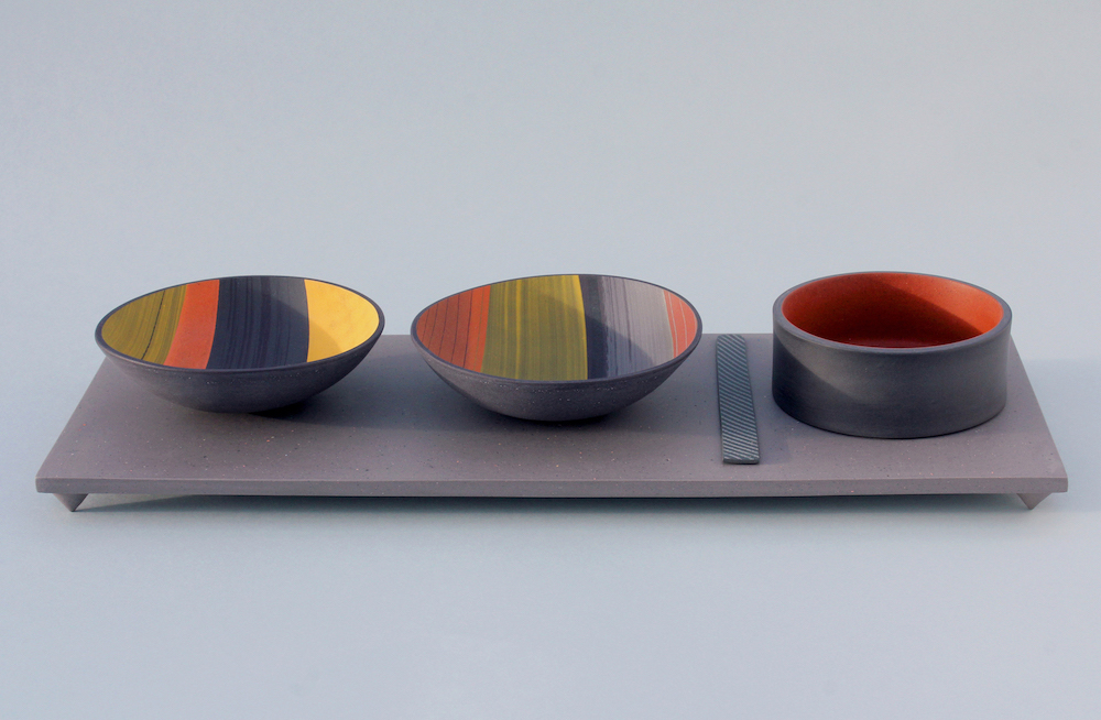 Bowl and cylinder composition 1