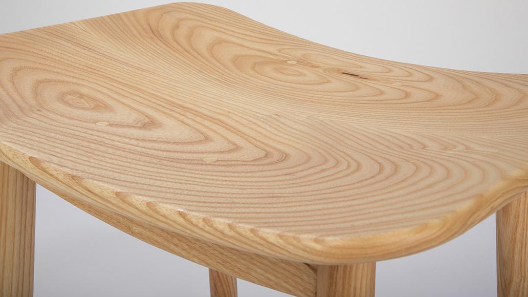'H' Dining stool