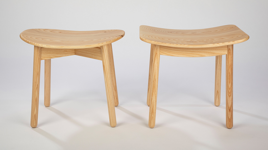 X and H dining stools