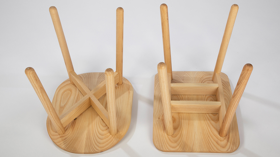 X & H dining stools