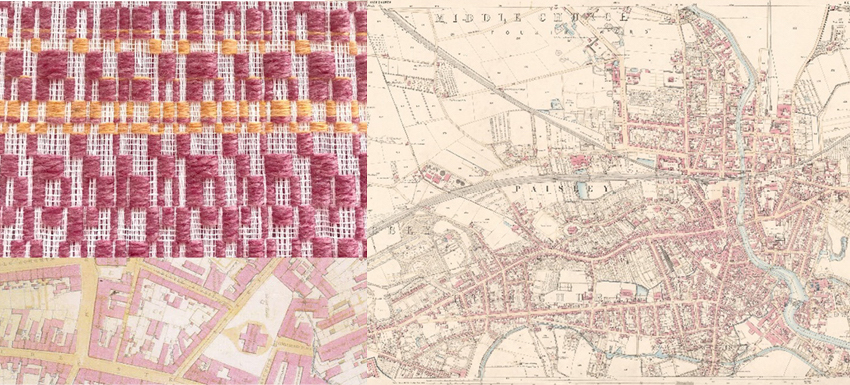 Shielagh Tacey designs with the Paisley map