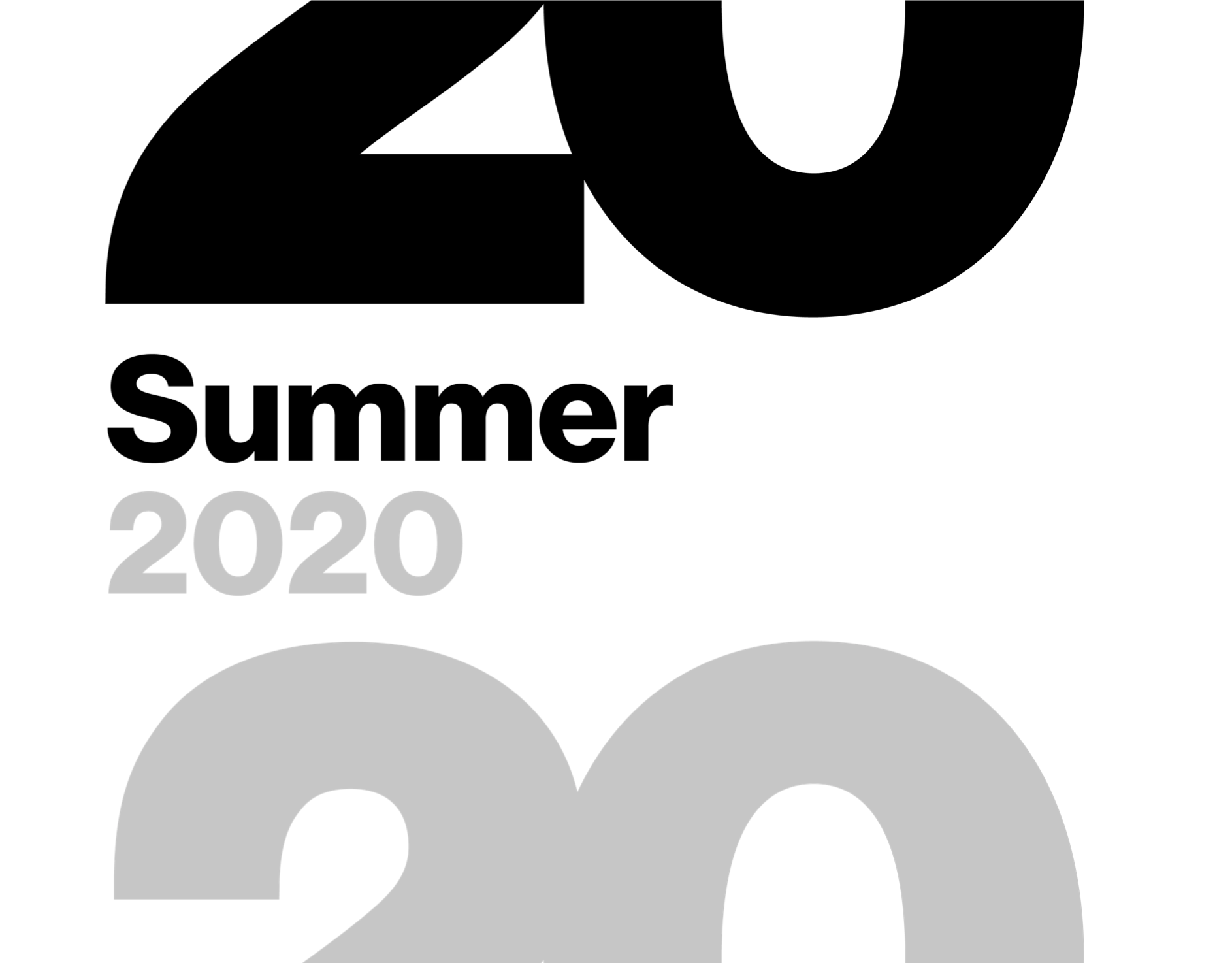Summer Show 2020 logo from ECA