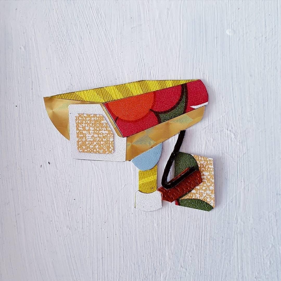 ' Home Sweet Home ' brooch prototype