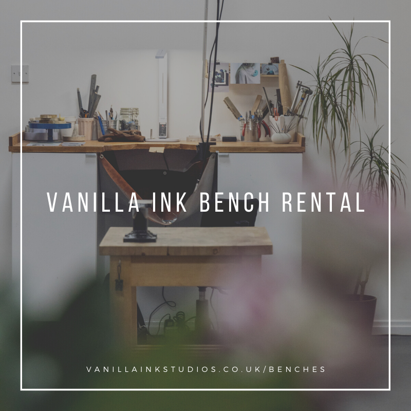 Bench Rental at Vanilla Ink