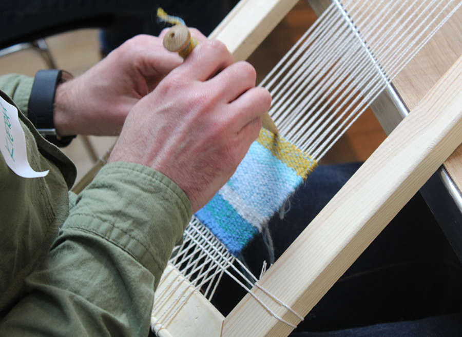 Tapestry Weaving Experience Day (September)