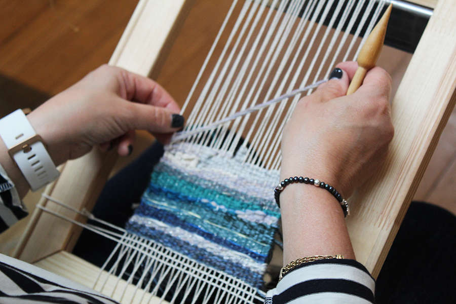 Tapestry Weaving Experience Day (October)