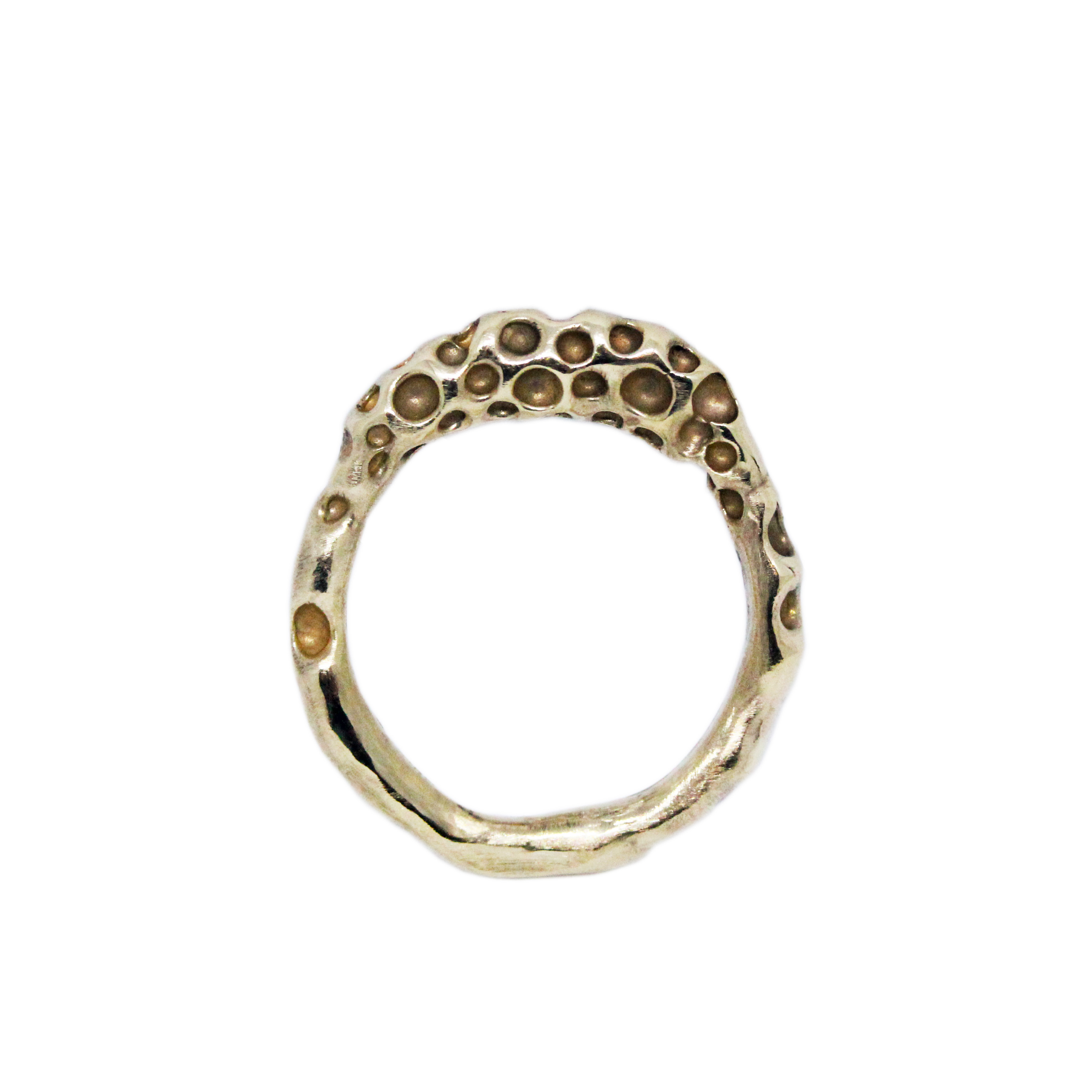 Chunky Pitted Ring