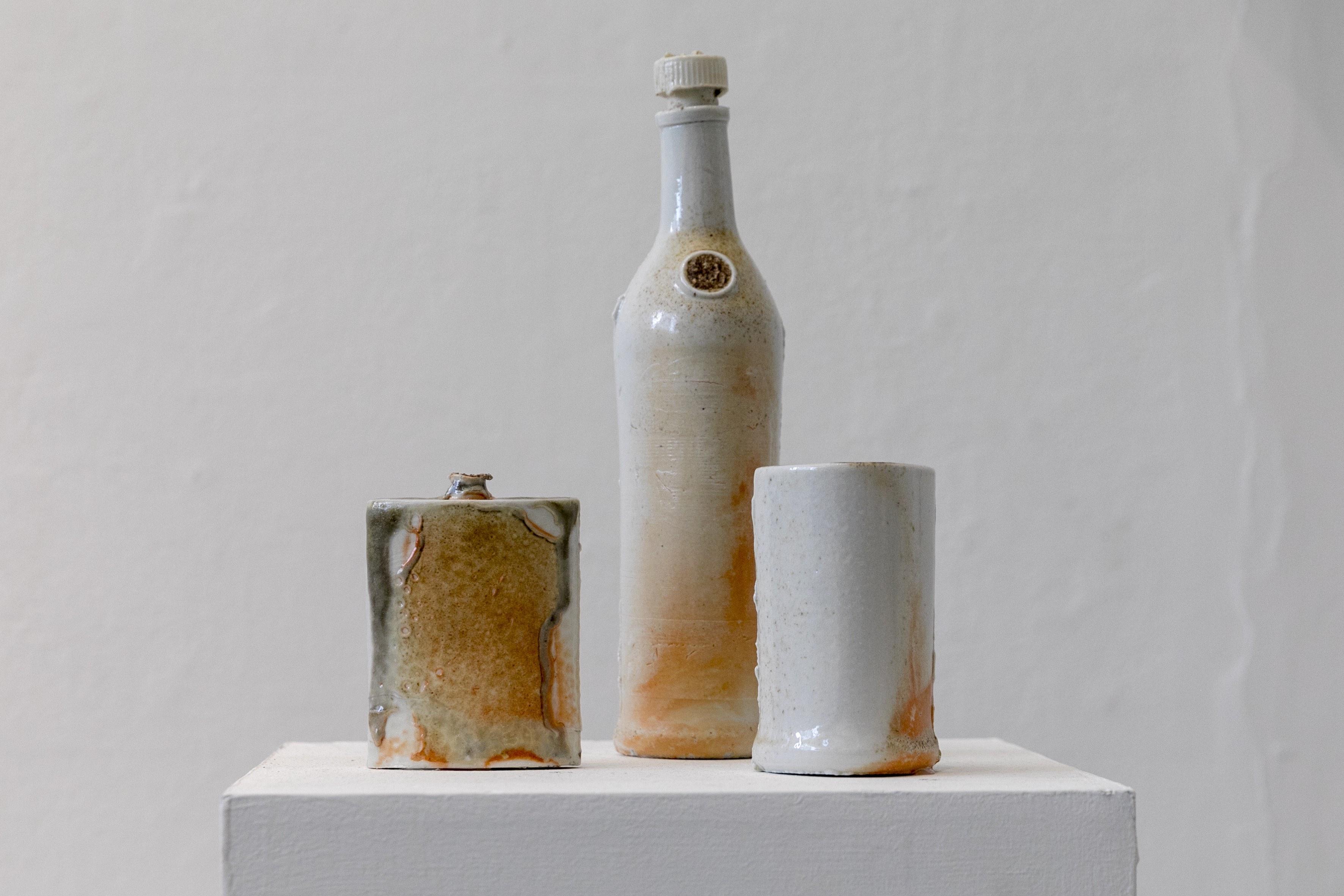 Glen Olsen,Wood Fired Porcelain,2018