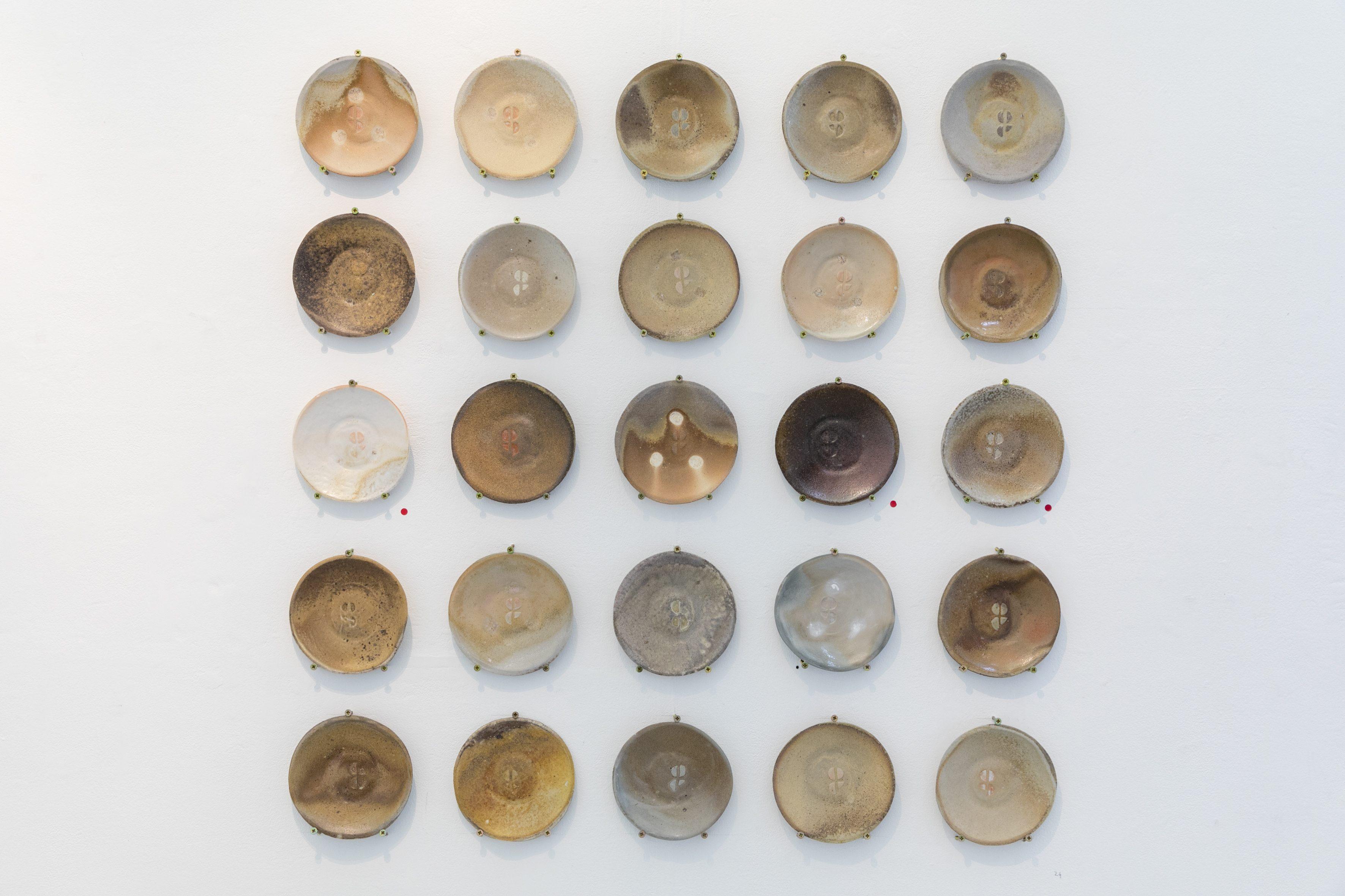 Guldergaard Plates,Woodfired Stoneware,2018
