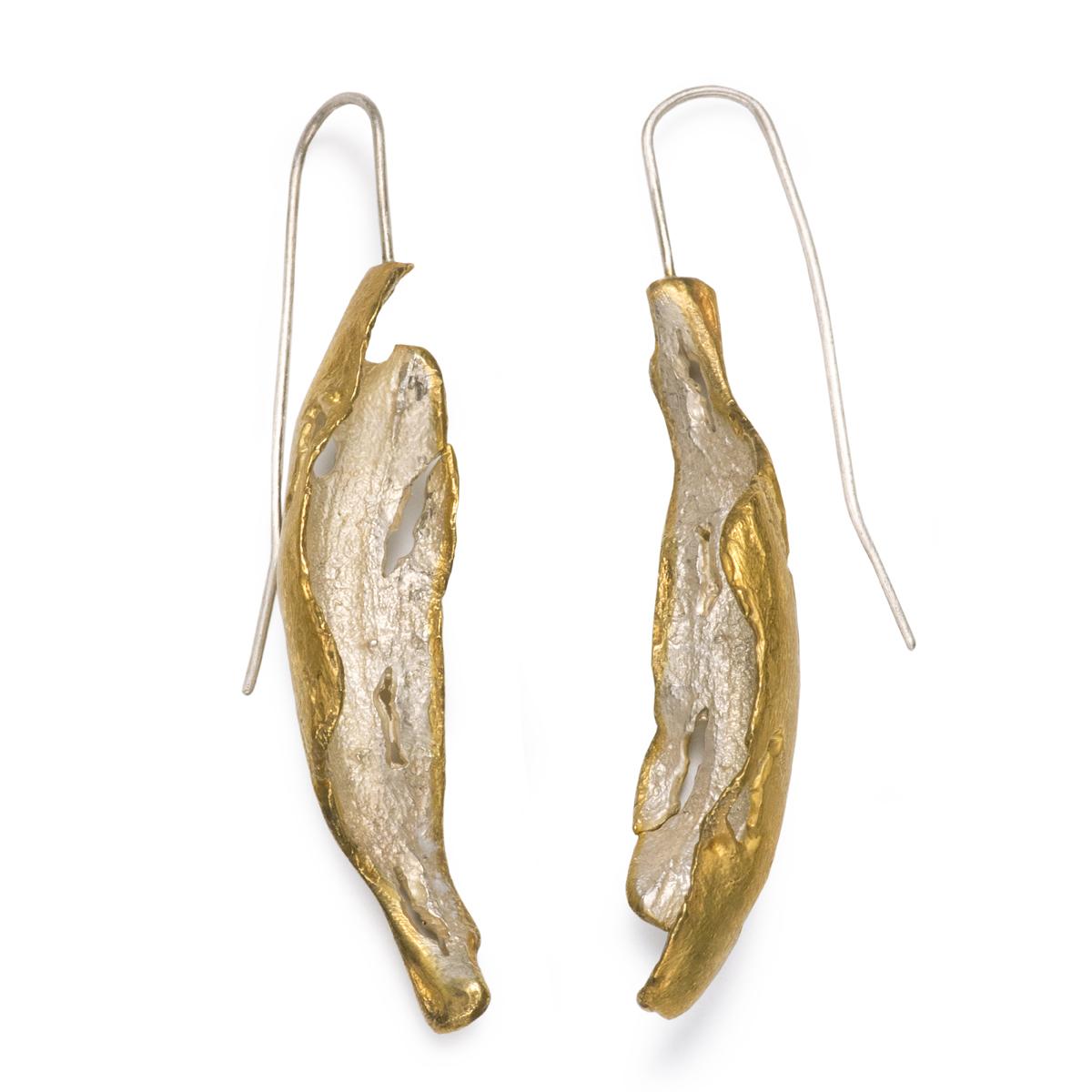 Fire and Earth Earrings