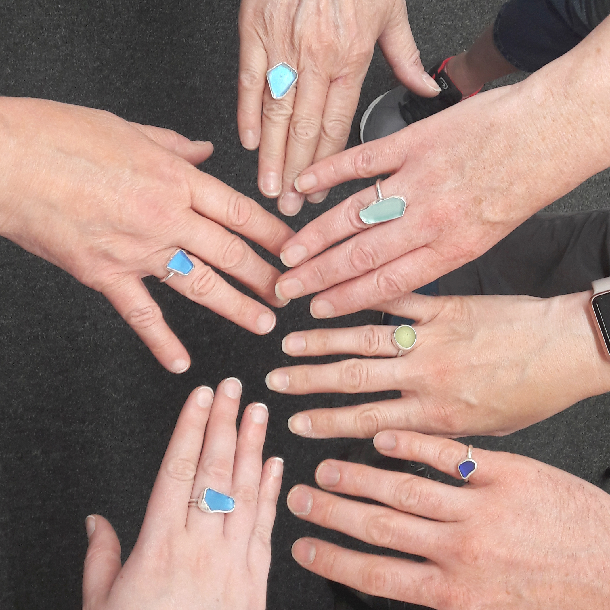 Make a Seaglass Ring Weekend Workshop