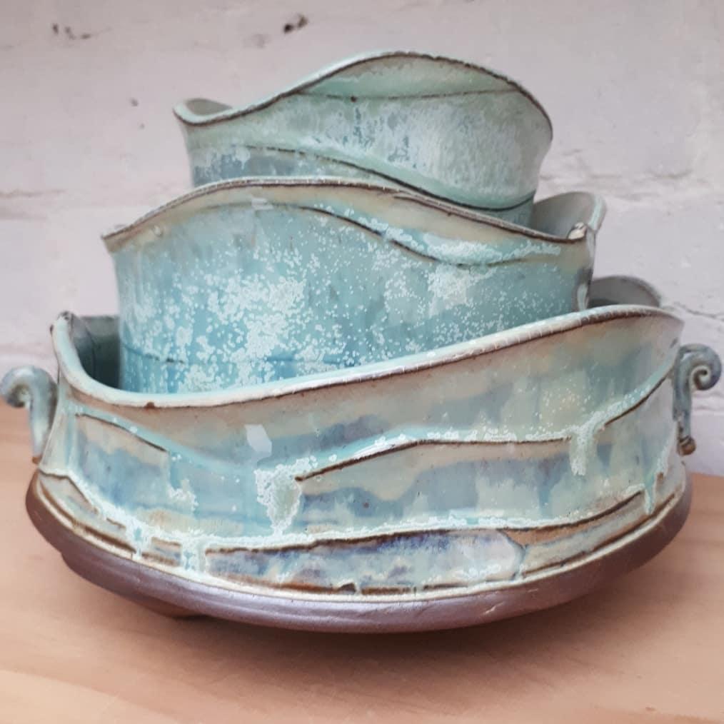 Waveware Nesting Bowls