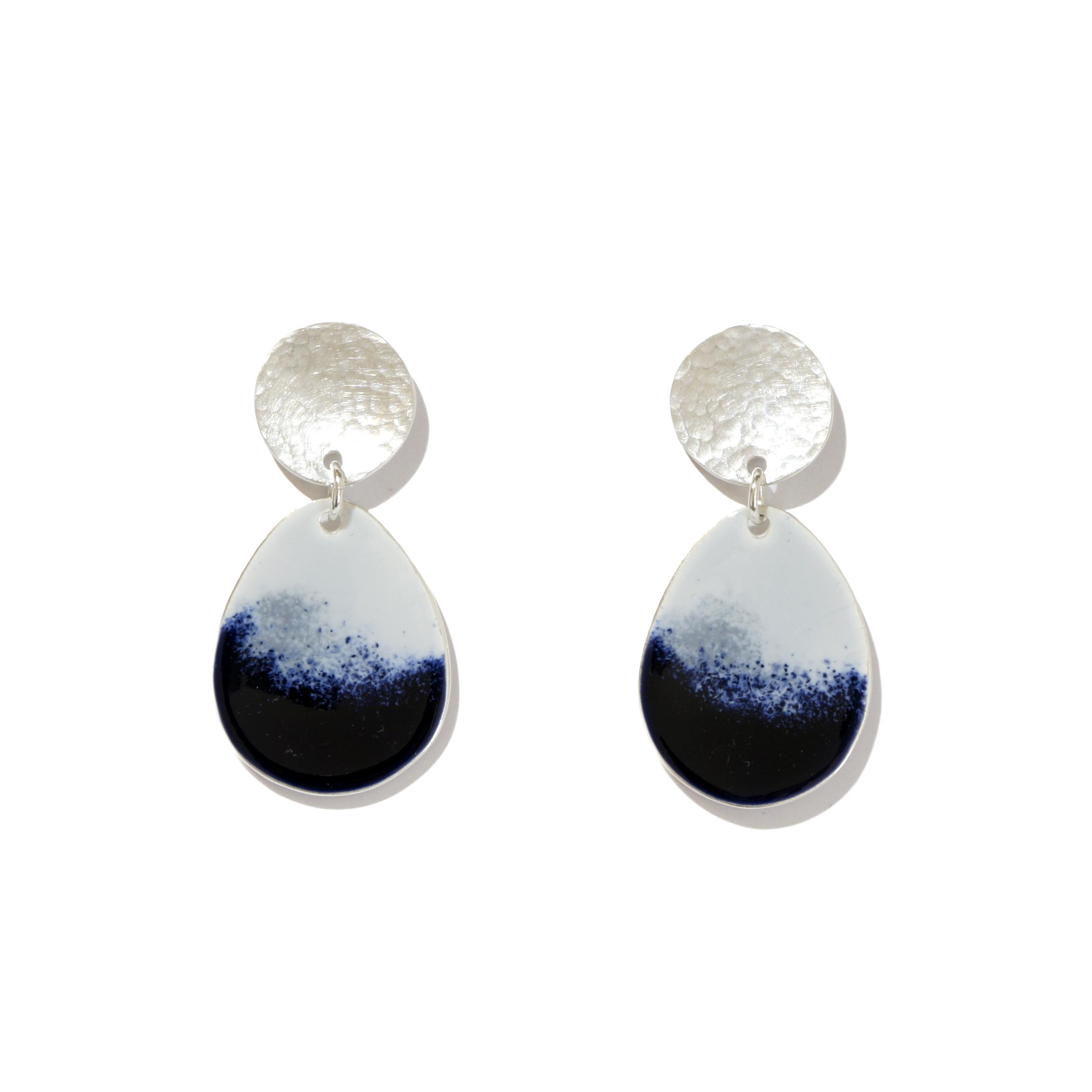 Large Drop Earrings in Mountain Mist