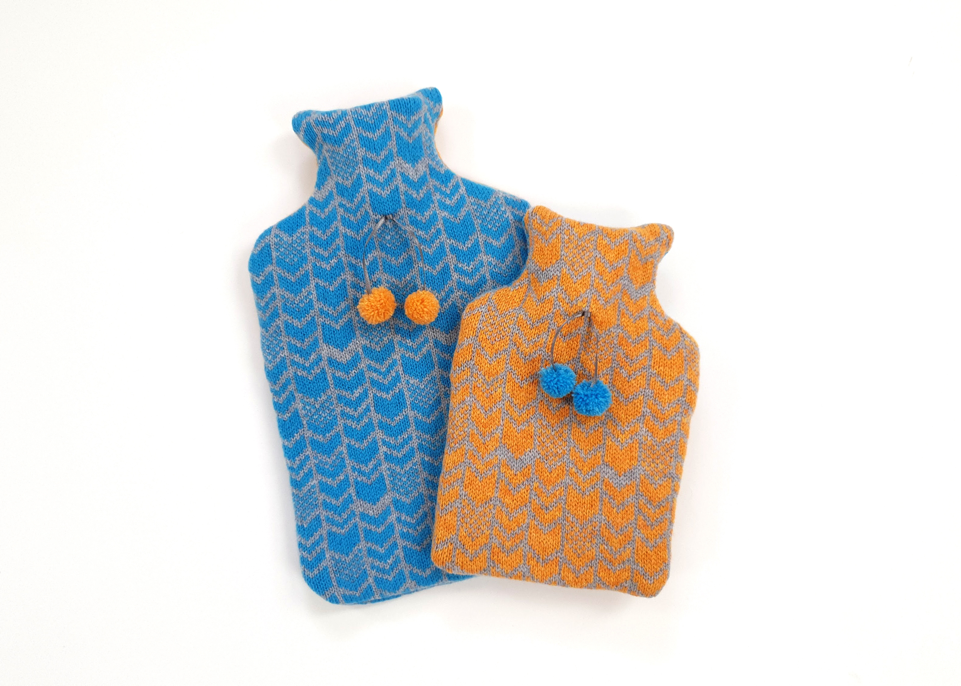 Chevron Hot Water Bottle Covers