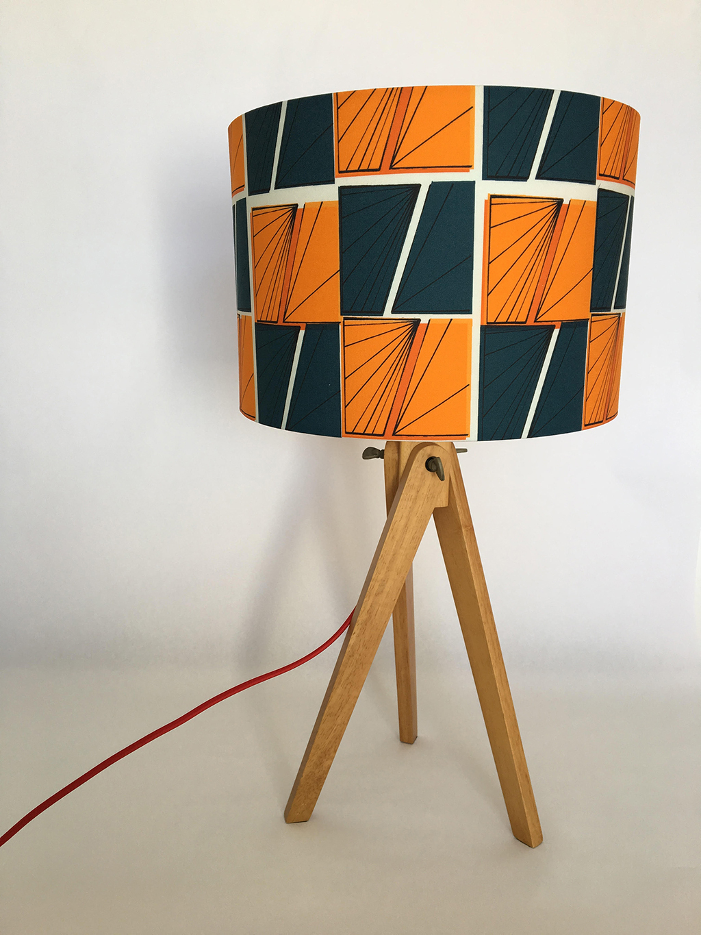 Signals Lampshade in Play Colourway