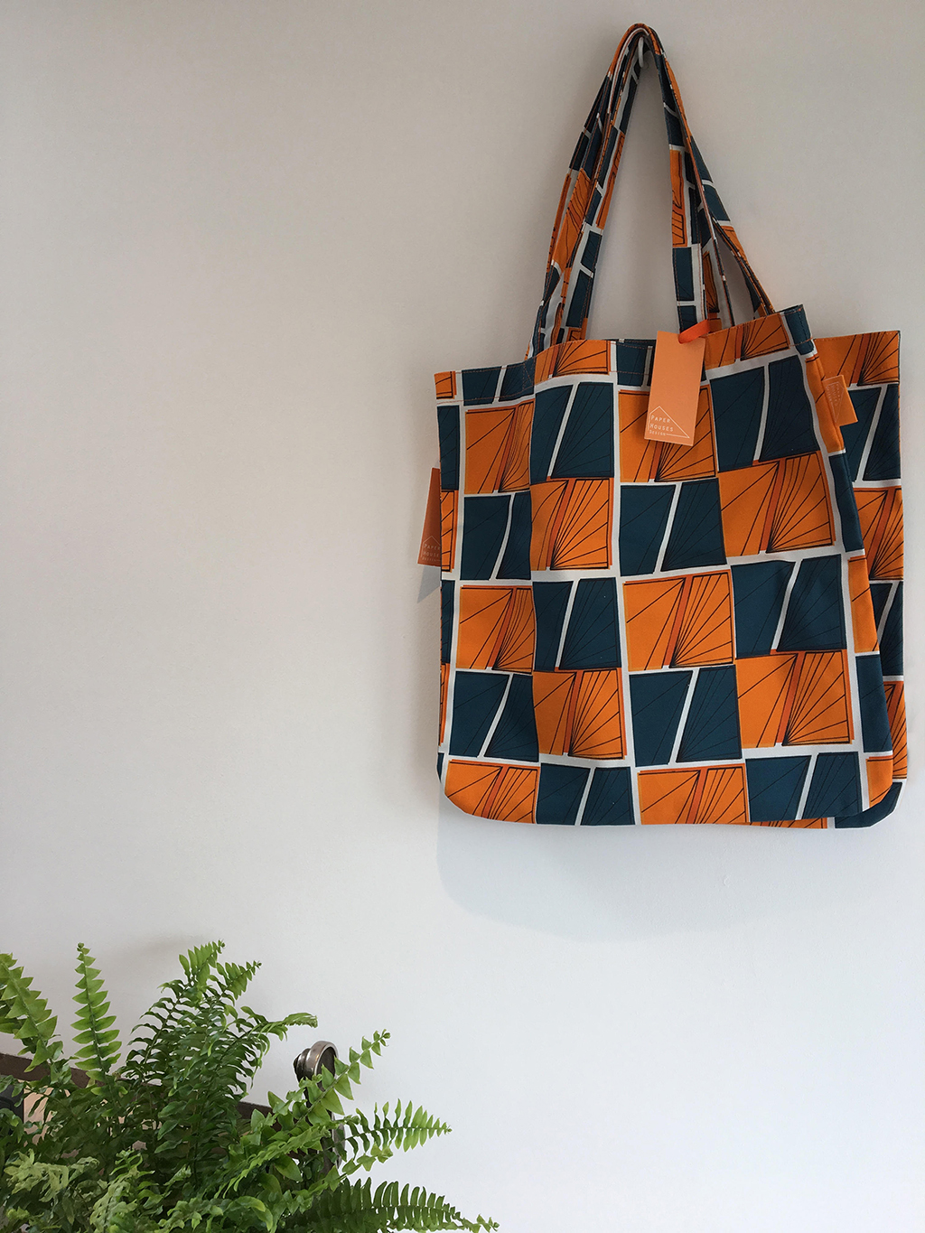 Signals Tote Bag in Play Colourway