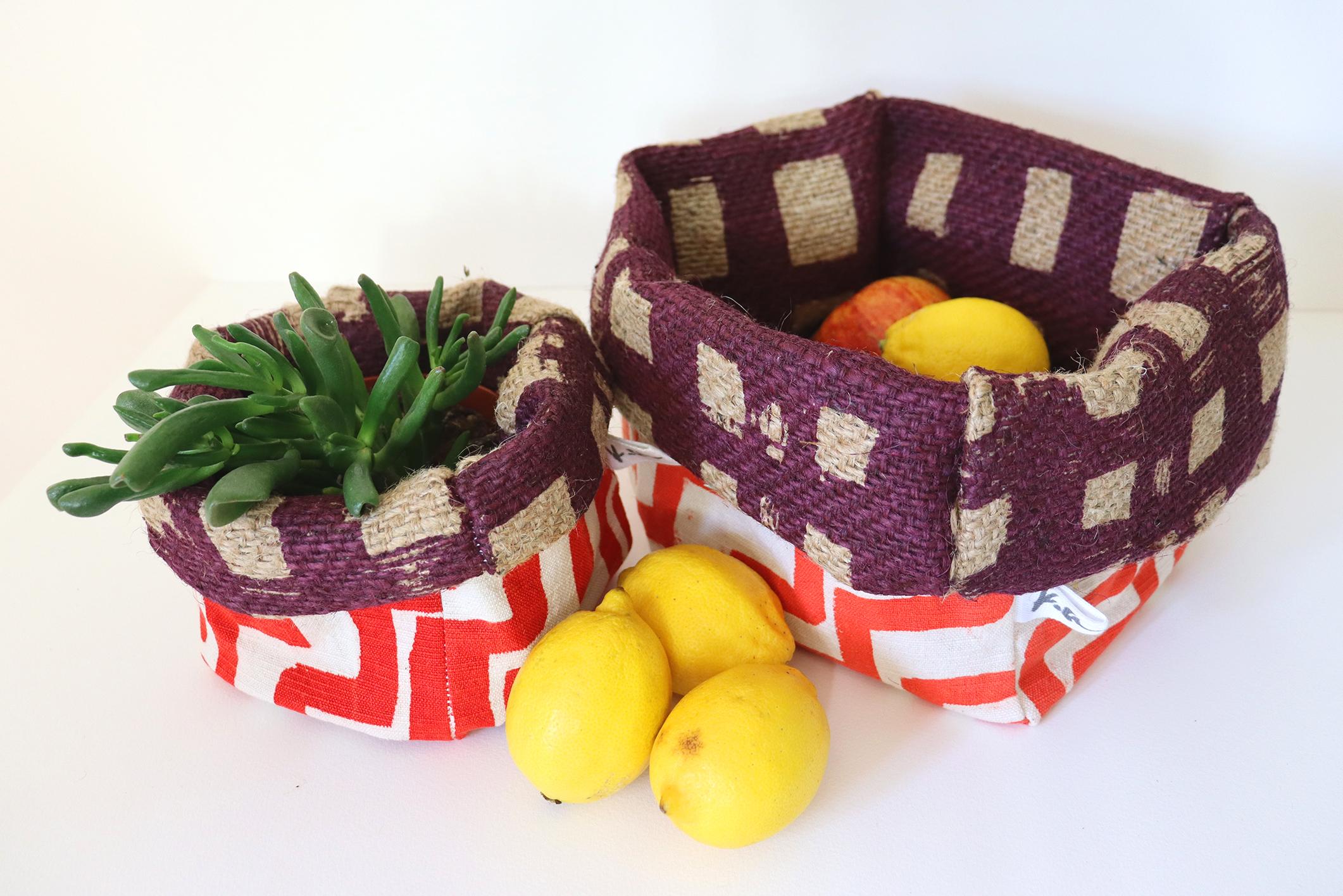 Ziggurat Fabric Pots