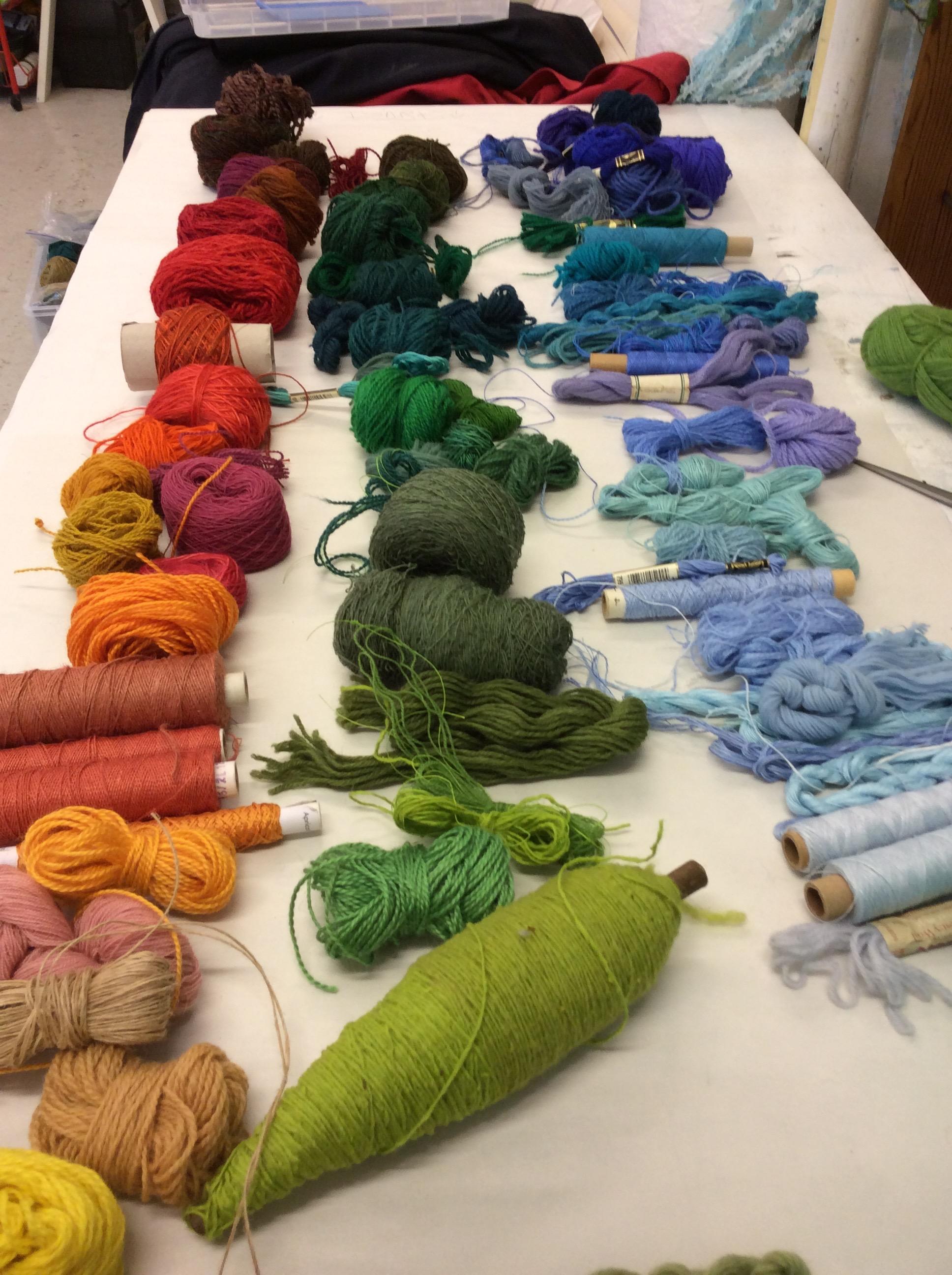 Tapestry Workshop.  A Splash of Colour.4-5th Nov 2017 Image #1
