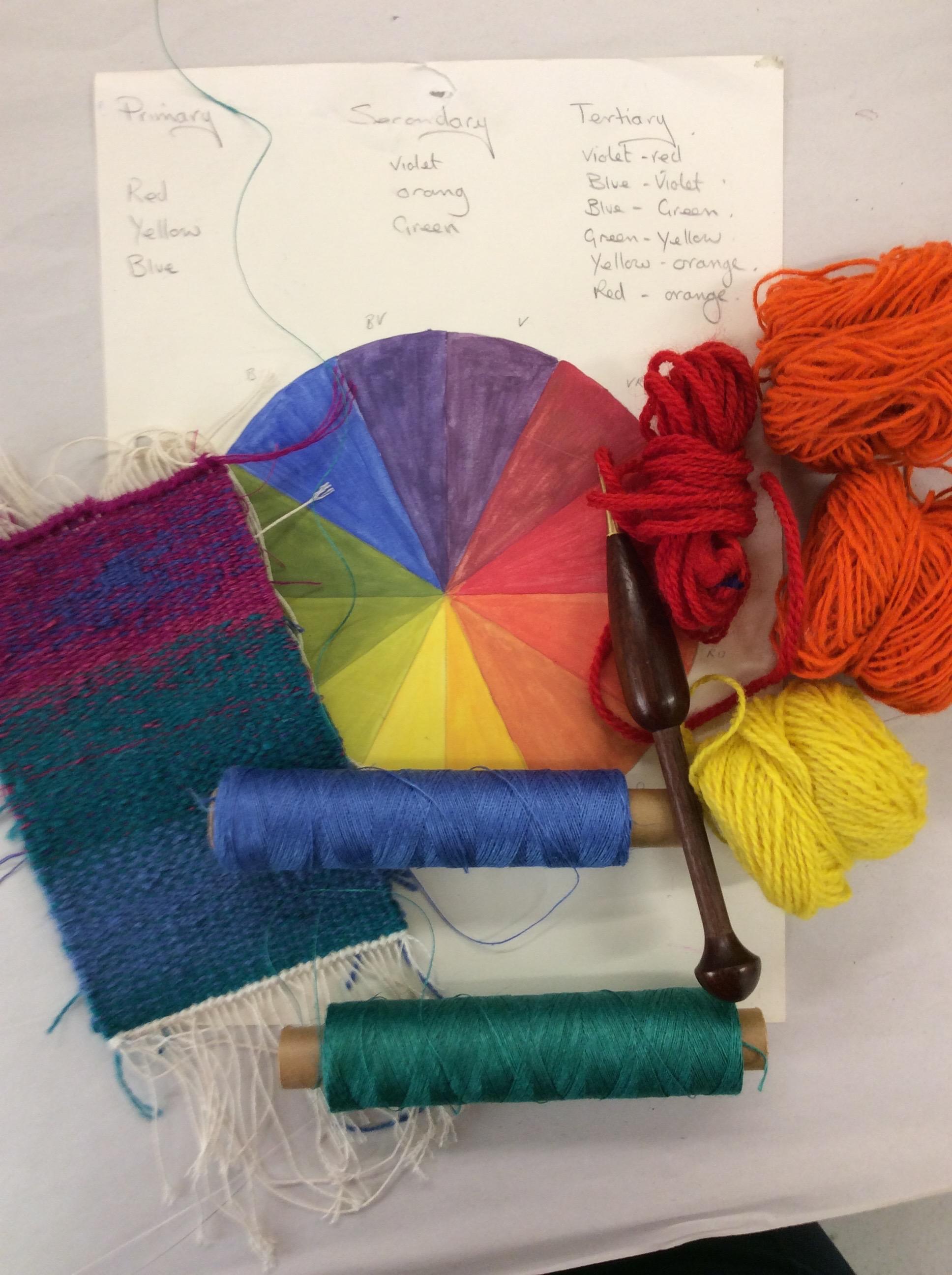 Tapestry Workshop.  A Splash of Colour.4-5th Nov 2017 Image #2