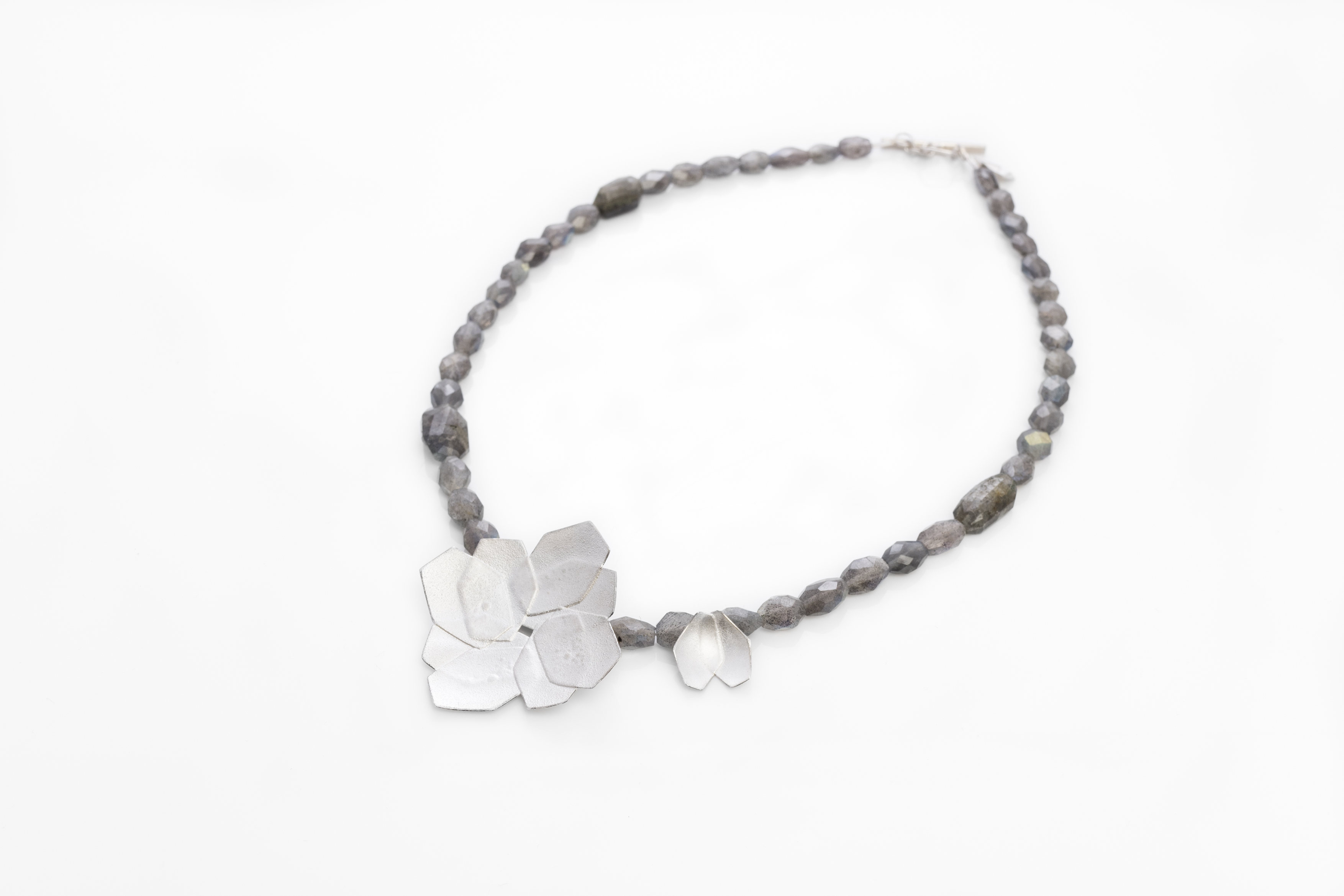 'Double Hydrangea' necklace