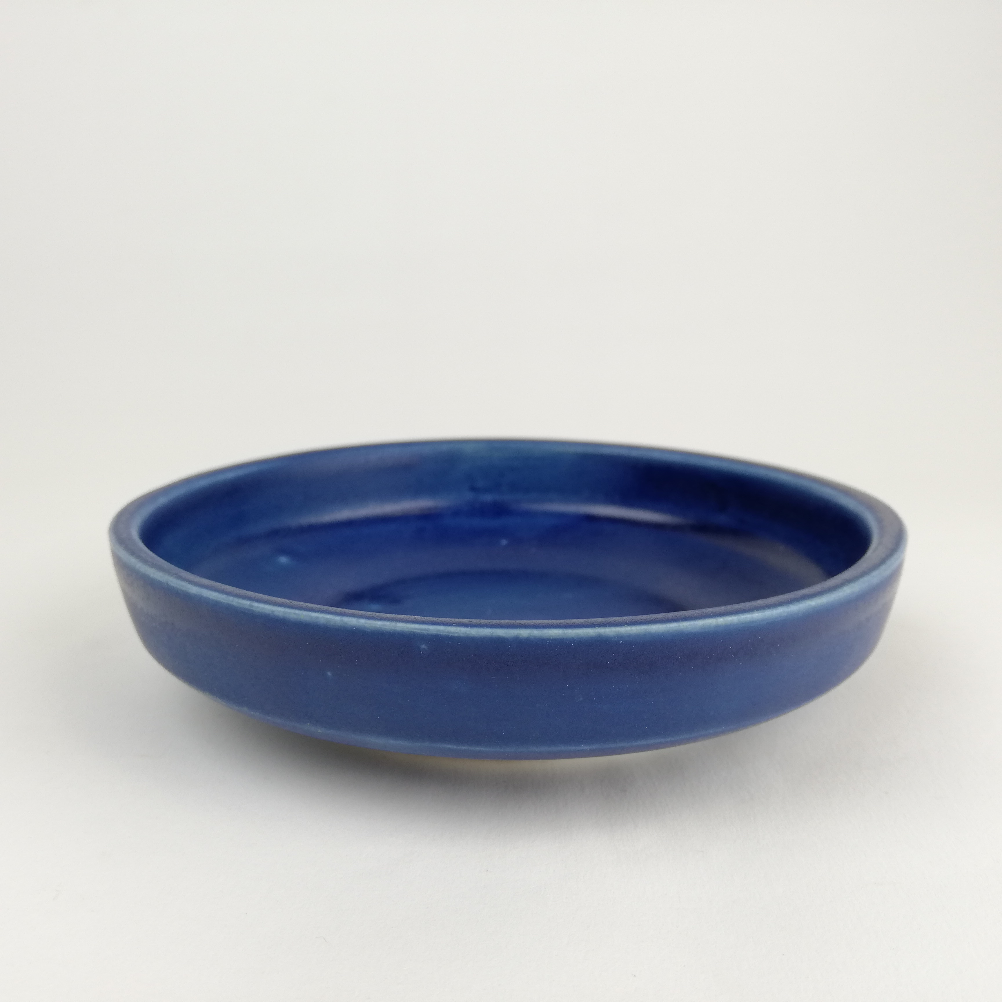 Small Plate with Midnight Blue glaze